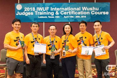 2018 IWUF Certified Judges from USA (PC Brandon Sugiyama)