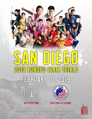 2019.02.10 - 2019 USAWKF San Diego Kungfu Trials Flyer